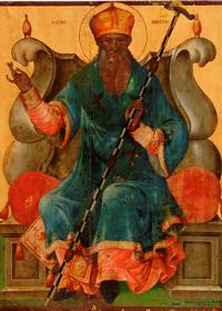 28 Mayıs Kadiköy piskoposu, itirafçi aziz Nikitas