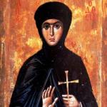 29 Mayıs Sur 'un Bakire şehidi Theodosia