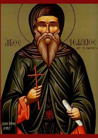 30 Mayıs Konstantinopolis ΄deki Dalmatian manastırı ΄nın kurucusu, aziz İshak