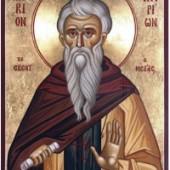6 Ηaziran Dalmatus Manastırı'nın Başkeşişi Aziz Yeni Hilaryon