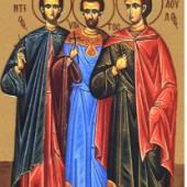 18 Haziran Suriye ΄deki Τrablus ΄tan şehit Leontius ve beraberindeki şehitler Hipatyus ile Theodulos