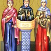 4 Temmuz Azize Martha, muhteşem dağlı aziz Simeon'un annesi