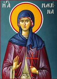 19 Temmuz Aziz Büyük Vasilios ile Nyssalı Aziz Gregory'nin Kız Kardeşi Azize Macrina