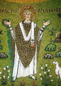 23 Temmuz Ravenna Piskoposu Ruhban-Şehit Apollinarius