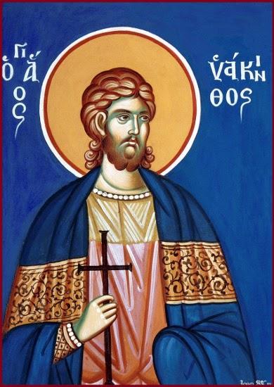 3 Temmuz Kapadokya'daki Kayserya'nın Kutsal Şehidi Hyakinthos ve Beraberindekiler