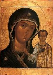 8 Temmuz Pek Kutsal Tanrıdoğuran'ın Kazan İkonası'nın Görünmesi