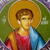 11 Ağustos Kutsaş şehit ve Catania'nın başkeşişi Euplus