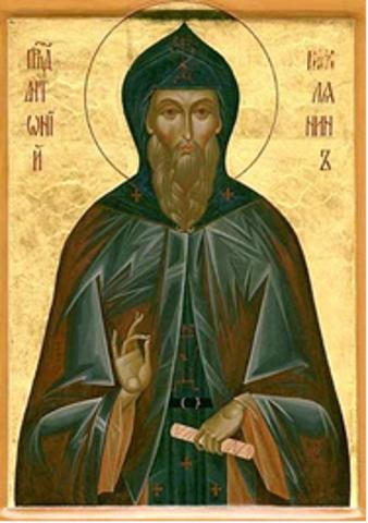 3 Ağustos Kutsal Pederimiz Antony Roman