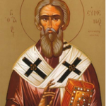 18 Eylül Gortyna Piskoposu, Aziz Evmenios