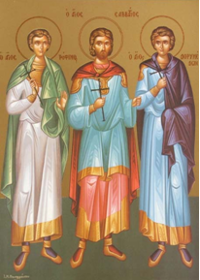 19 Eylül Synnadalı Şehitler Trofimos, Savvatios, Dorimedon