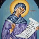 7 Eylül İlahi Yazarı Azize Kassiani