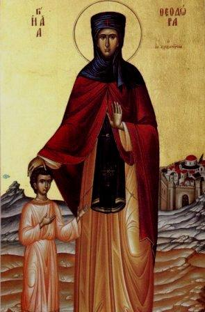11 Eylül Azize İskenderiyeli Theodora