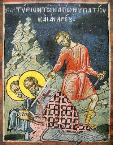 20 Eylül Aziz Şehitler Hipatios ve Andreas, Kutsal İkonaların İtirafçıları