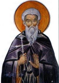 22 Eylül Zografu Manastırı'nın Çöl Münzevisi, Aziz Kozmas