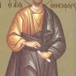 7 Eylül Yetmişlerden Aziz Havariler Evodos ve Onisiforos