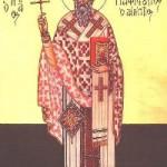 11 Eylül Günah İtirafçısı Aziz Pafnutios