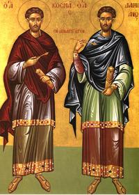 17 Ekim Kutsal Şehitler Kosmas ve Damian, Kilikya'nın Gönüllüleri