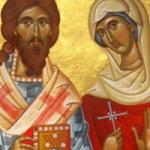 30 Ekim  Şehitlik Tacını Beraber Giyen Bir Ağabey-Kardeş: Zenobius ile Zenobia