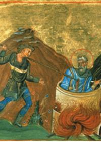 28 Ekim Şehitlik Tacını Beraber Giyen Bir Anne-Oğul: Yeruşalim Piskoposu Kutsal Ruhban-Şehit Kyriakos ve Annesi Azize Anna