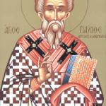 6 Kasım   İman İkrarcısı Pavlus, Konstantinopolis Başpiskoposu