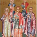 2 Kasim  Acemistanlı Kutsal Şehitler Akindinus, Pegasius, Aftonius,  Elpidoforos ve Anempodistus
