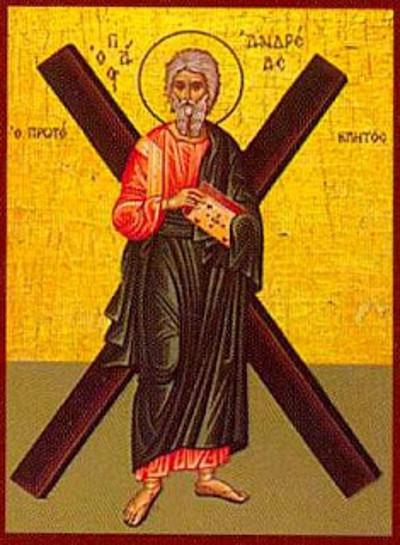 30 Kasım Kutsal, Görkemli ve Şanlı Havari Andreas, İlk Çağrılan