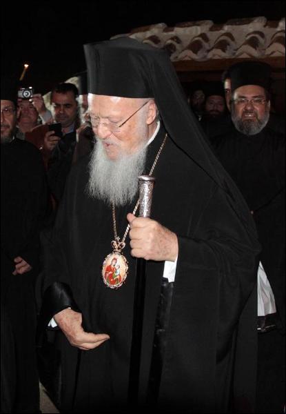 Fener Rum Patriği Bartholomeos Alanya'da Ayine Katıldı