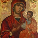 Tanrıdoğuran Meryem Ana'nın göğe kabulu için yazılan övgü