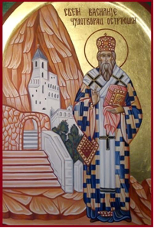 29 Nisan Ostrog Piskoposu Aziz Vasili