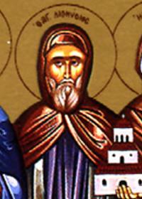 25 haziran Agion Oros ΄taki aziz vaftizci Yuhanna manastırı ΄nın kurucusu, kutsal pederimiz Diyonisyos