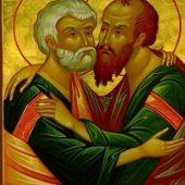 29 Haziran Takdire şayan ve şerefli baş havariler, azizler Petrus ve Pavlus