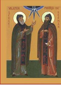 28 Haziran Azizler Sergius ve Herman, Valaam'nın başrahipleri