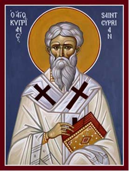 31 Ağustos  Kartaca Piskoposu, Şehit Ruhban Kiprianos