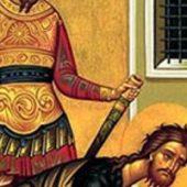 29 Ağustos Şerefli Öncü Peygamber, Vaftizci Yahya'nın Başının Kesilmesi