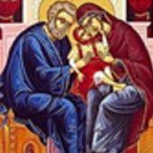 9 Eylül Tanrı-doğuran Bakire Meryem'in kutsal ve erdemli ebeveyni aziz Yohakim ile azize Anna