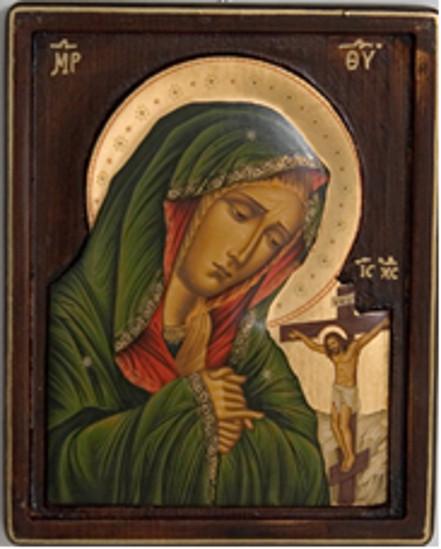 Haç'ın altındaki Meryem