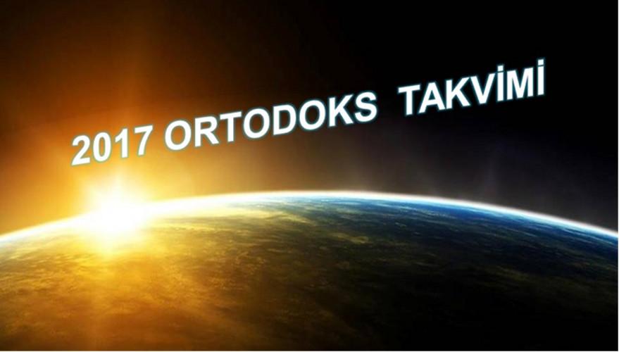 2017 Ortodoks Takvimi