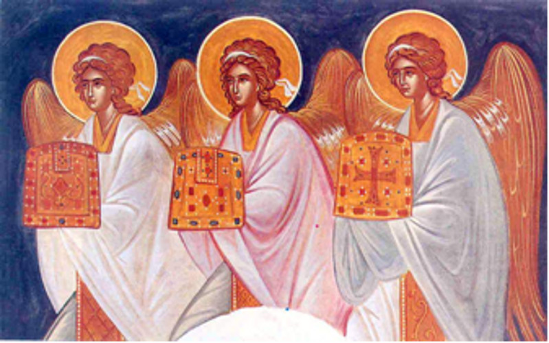 Tanrı Krallığının bedensiz varlıkları Melekler (10)