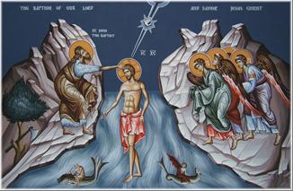 6 Ocak Theofani bayramı Suların kutsanması töreni