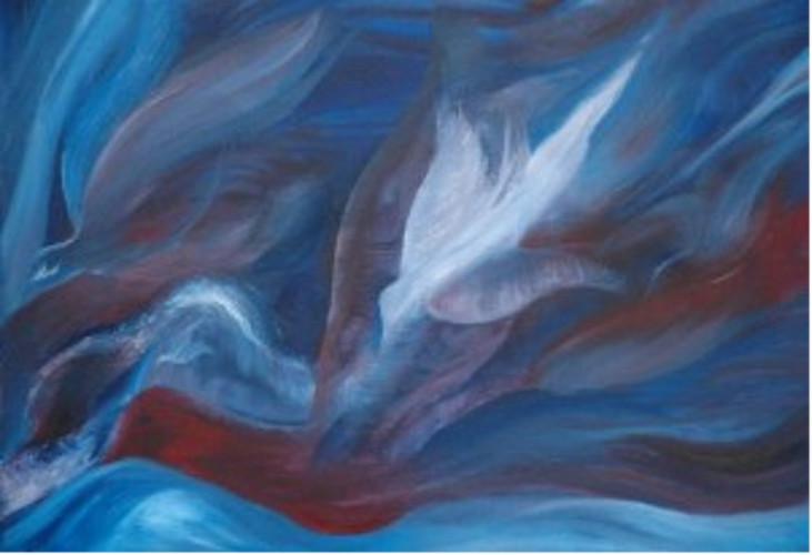 Kutsal Ruh, Baba'nın niyetlerini ve İsa'nın eserini uygulamak için her Pentekost 'ta dönüyor.