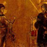 Tanrı validesi ebediyen bakire olan Meryem'in Müjdesi