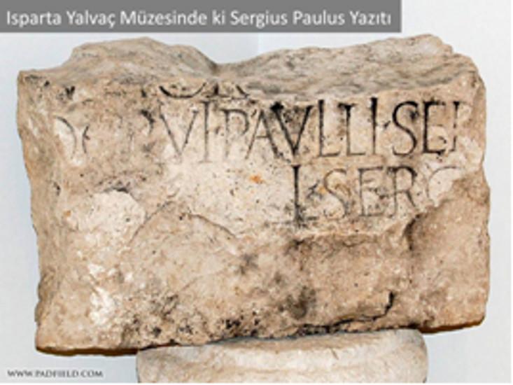 Luka'nın tarihsel kesinliliği: Sergius Paulus yazıtlatı