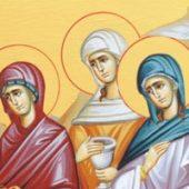 Mür taşıyan kadınlar haftası vaazı