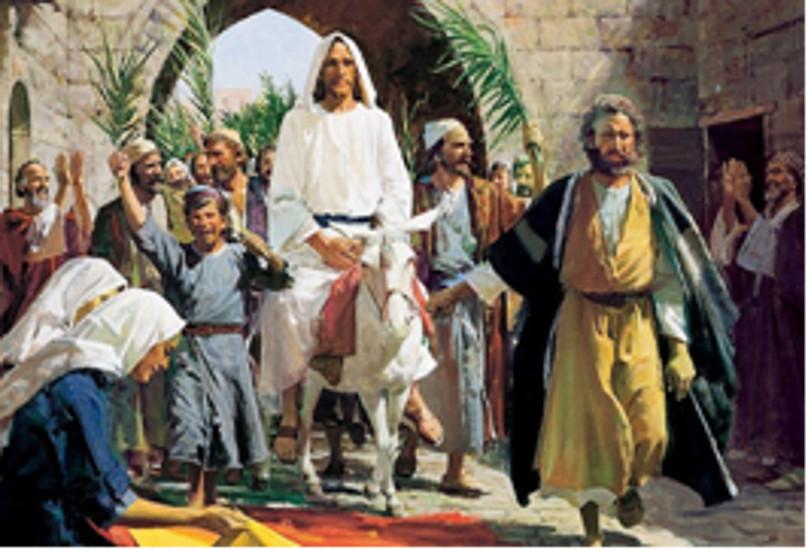 Dallar Bayramı Pazarı vaazı – Rab'bin Yeruşalim'e girişi