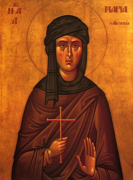 1 Nisan   Μısırlı azize Meryem