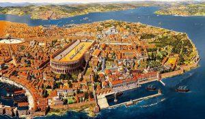 Elçilere denk Aziz İmparator Konstantinos ve annesi Azize İmparatoriçe Eleni'nin anısına vaaz