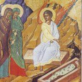 Mendil İsa'nın kefenine sarılmış...