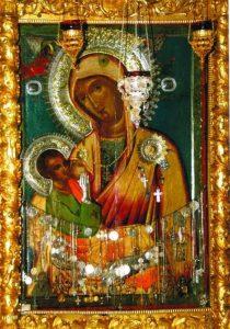 Galaktotrofusa yani Sütveren Meryem Annemizin ikonası