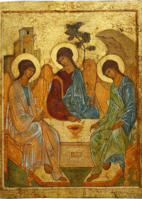 Kutsal Teslis ikonası